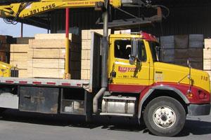 Camion 10 roues Grue Prentice T-33 Hauteur 40′
