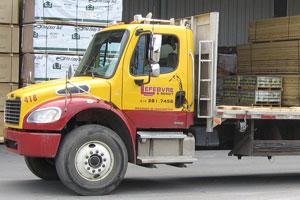 Camion porteur 6 roues