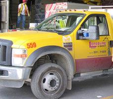 Petit camion porteur